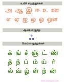 Tamil Printable books - Tamil Letters